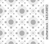 seamless geometric pattern with ... | Shutterstock .eps vector #563143852