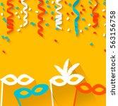 celebration festive background... | Shutterstock .eps vector #563156758