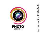 logo for photo studio | Shutterstock .eps vector #563167456