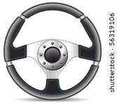steering wheel   vector... | Shutterstock .eps vector #56319106