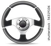 steering wheel   vector... | Shutterstock .eps vector #56319106
