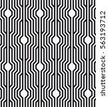 vector seamless pattern.... | Shutterstock .eps vector #563193712
