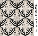 stylized nautilus or lotus...   Shutterstock .eps vector #563207746