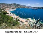 Cote d'Azur, Southern France - stock photo