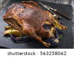 Barbecue Goose With Potatoes...