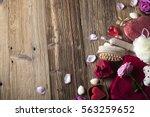valentines day concept | Shutterstock . vector #563259652