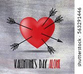 Heart And Broken Arrows In...
