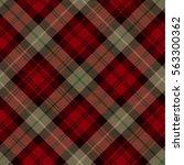 tartan seamless pattern... | Shutterstock .eps vector #563300362