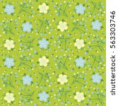 Background  Floral Pattern ...