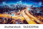 smart city and wireless... | Shutterstock . vector #563320966