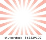pink and white sunburst pattern.... | Shutterstock .eps vector #563329102