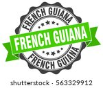 french guiana | Shutterstock .eps vector #563329912