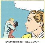 pop art vector illustration of...