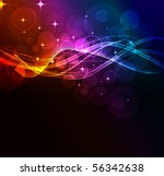 abstract wave eps10 format | Shutterstock .eps vector #56342638