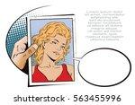 stock illustration. people in... | Shutterstock .eps vector #563455996