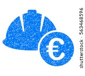 engineering helmet and euro...   Shutterstock .eps vector #563468596