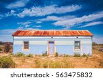 Colored Rural House In The...
