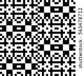 vector seamless pattern.... | Shutterstock .eps vector #563478712