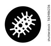 virus bacteria icon | Shutterstock .eps vector #563486236