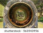 electric motor rotor of stock. | Shutterstock . vector #563543956
