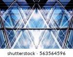 Transparent Glass Walls. Moder...