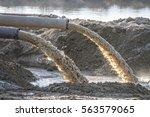 industrial effluent  pipeline...