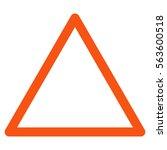 empty warning trinagle raster...