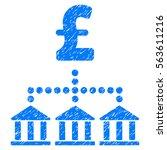 pound bank scheme grainy... | Shutterstock .eps vector #563611216