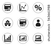 set of 9 editable logical icons....