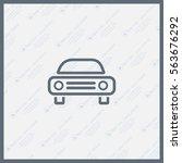 car icon | Shutterstock .eps vector #563676292