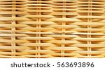 Pattern Of Bamboo Weave