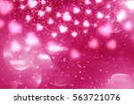 Pink Abstract Valentines Day...