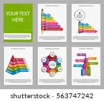 collection infographics. design ... | Shutterstock .eps vector #563747242