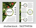 abstract vector layout...   Shutterstock .eps vector #563794936