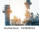 oil and gas industry | Shutterstock . vector #563808262