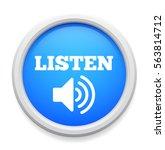 listen icon | Shutterstock .eps vector #563814712
