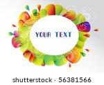 colorful background | Shutterstock .eps vector #56381566