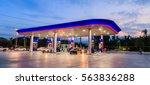gas station | Shutterstock . vector #563836288