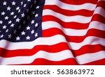 beautifully waving star and... | Shutterstock . vector #563863972