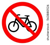 No Bicycle. Bicycle Prohibitio...