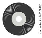 vinyl record vector   Shutterstock .eps vector #563908138
