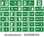 vector illustration symbol set  ... | Shutterstock .eps vector #563908342