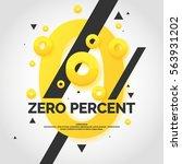 original concept poster loan... | Shutterstock .eps vector #563931202