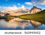 The Pale Di San Martino Peaks ...