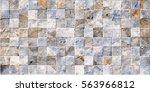 3d tile mosaic   Shutterstock . vector #563966812