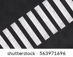 pedestrian crossing  asphalt... | Shutterstock . vector #563971696