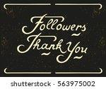 hand written lettering... | Shutterstock . vector #563975002