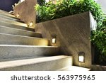 stairway and light - stock photo