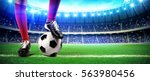 football stadium | Shutterstock . vector #563980456