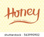 banner with hand lettering... | Shutterstock .eps vector #563990902